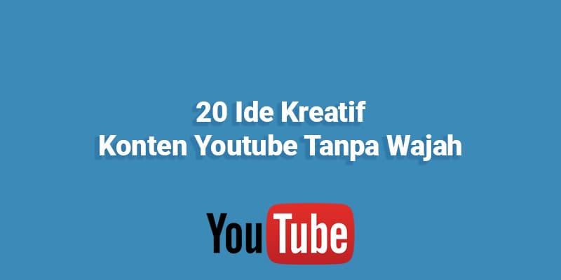 20 Ide Kreatif Konten Youtube