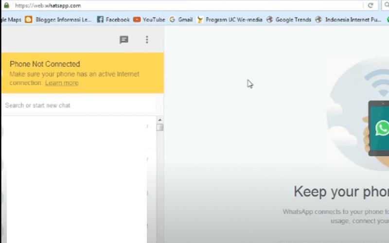 Cara Buka WA Di WEB