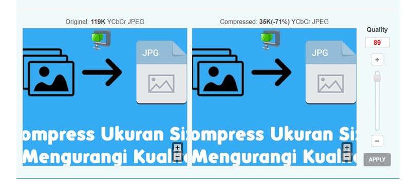 Pilih Ukuran Size File