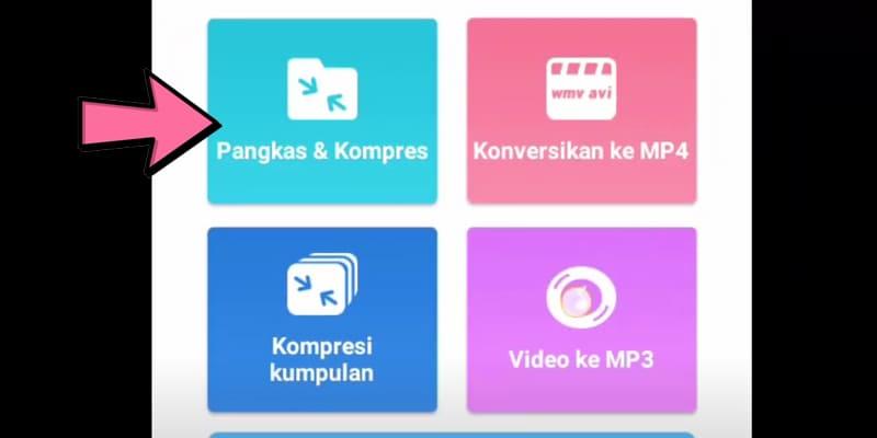 Pangkas Dan Kompres Video Whatsapp