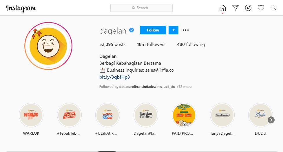 Akun Publik Untuk Jualan Di Instagram