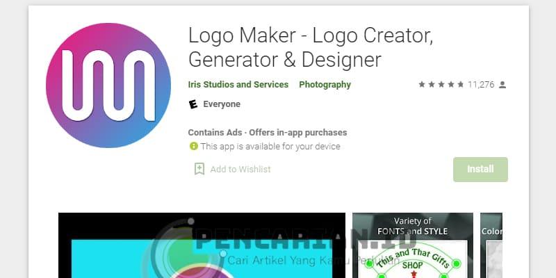 Logo maker – Logo Creator (by Chue Dave)
