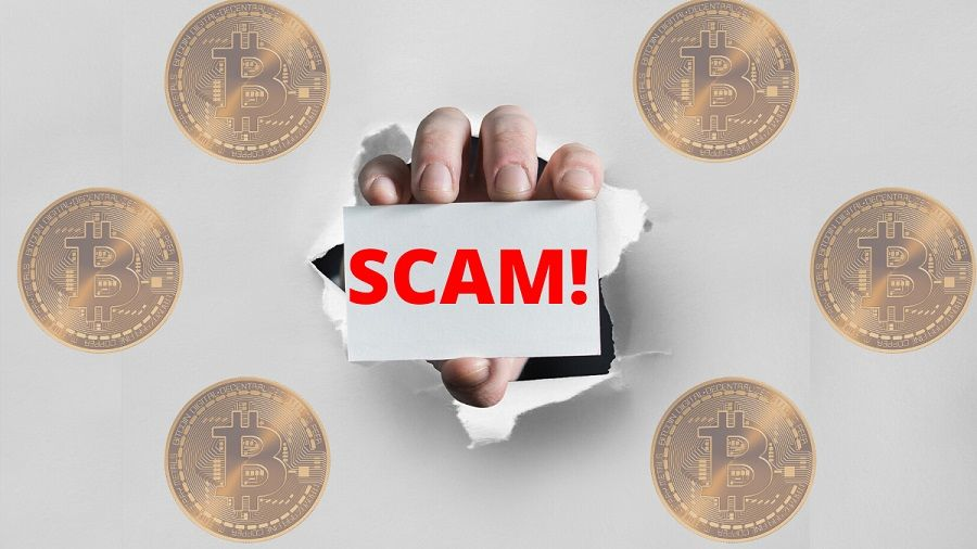 skema cryptocurrency palsu (Scam)