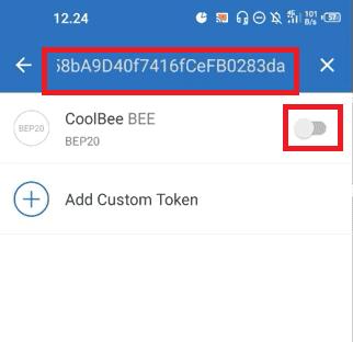 Aktifkan Wallet Token CoolBee