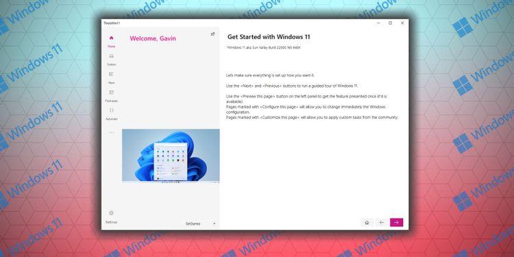 Cara Menyesuaikan Windows 11 dengan ThisIsWin11