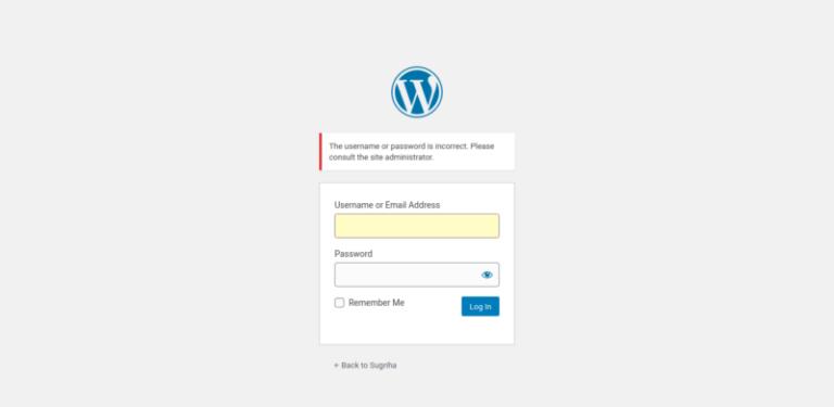 wp passwordreset