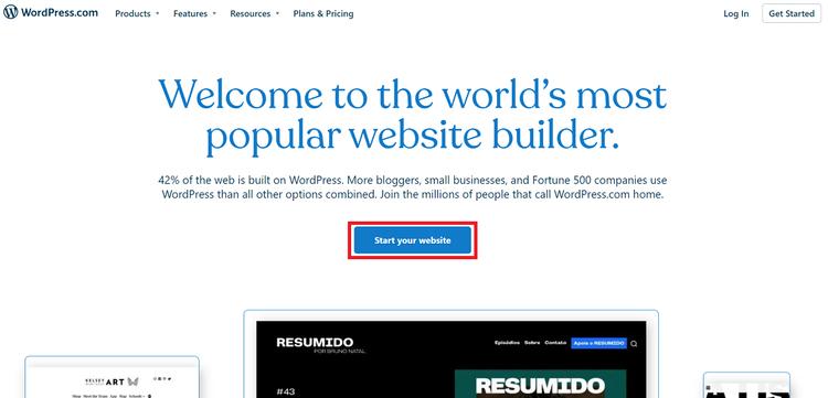 Buat Akun WordPress Gratis 1
