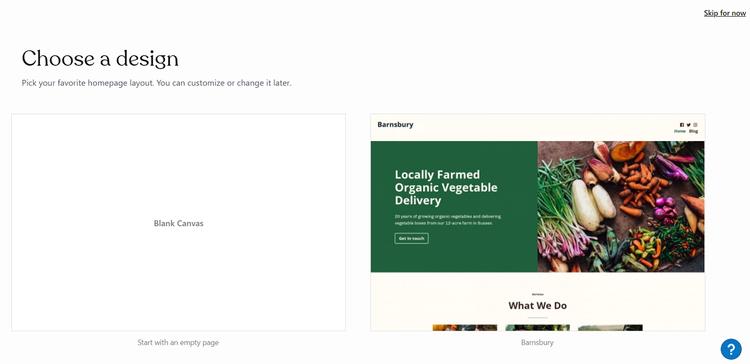 Langkah 3 Rancang dan Siapkan Situs Web